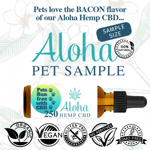 Aloha Hemp CBD Pet Sample