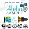 Aloha Hemp CBD Choose a Flavor to Sample